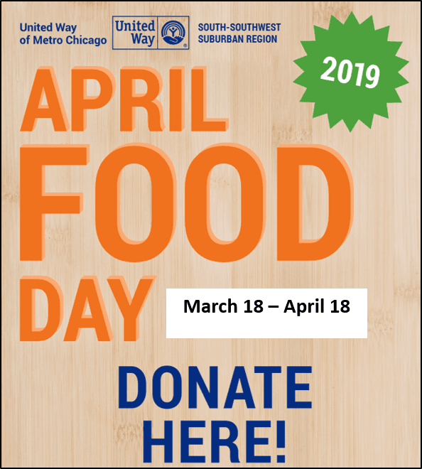 April Food Day Donate Here