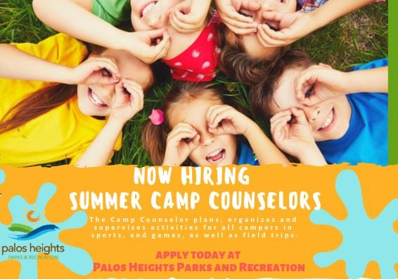 Parks Rec Hiring Camp Counselors 3-6-19