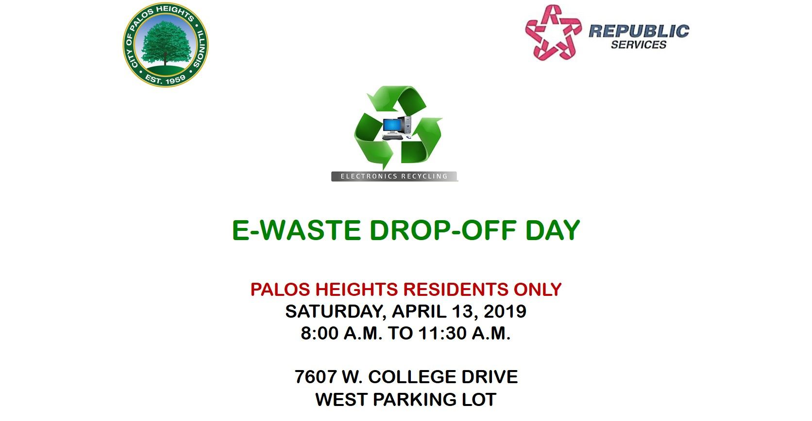 E-Waste Drop off Day for Website 4-13-19