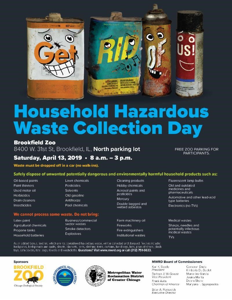 Household Hazz Waste Coll Day 4-13-19