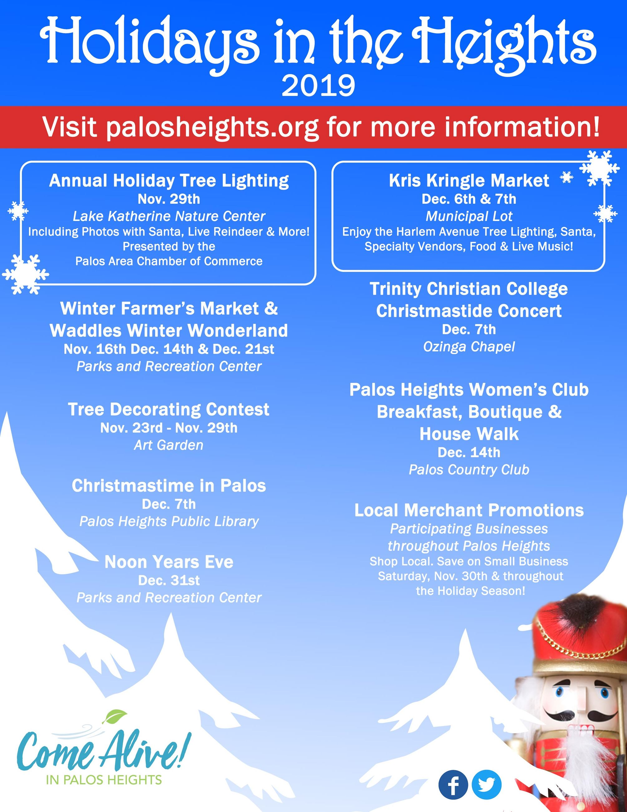 Holidays in the Heights Flyer
