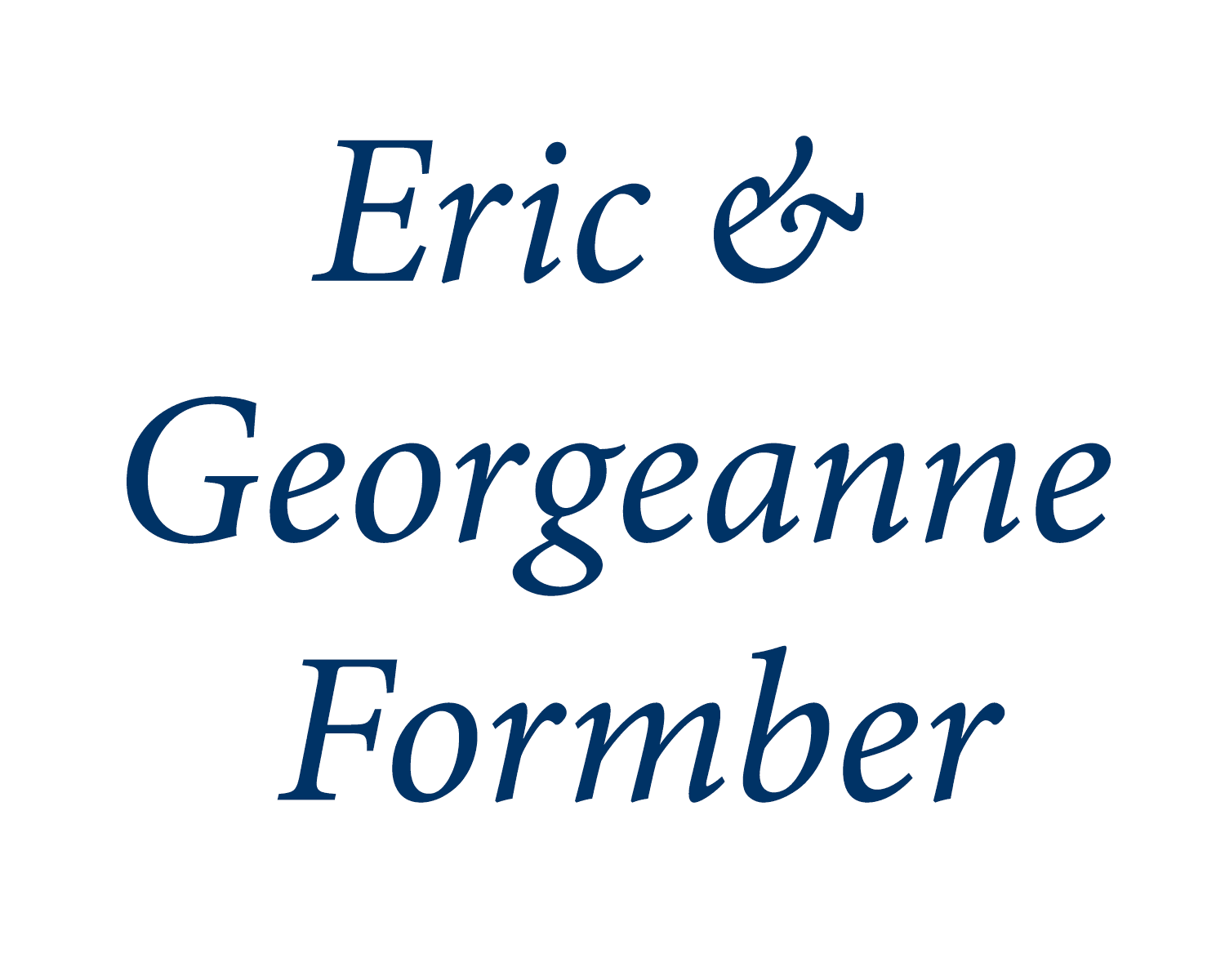 eric and georganne