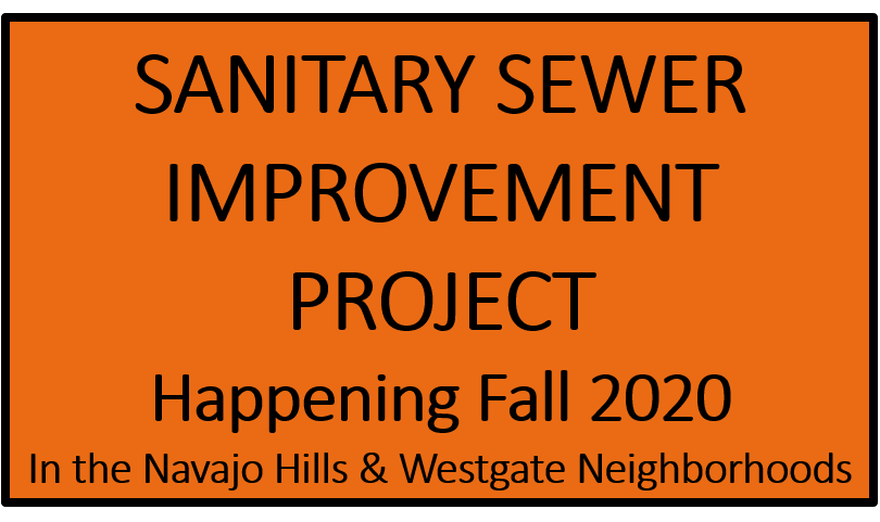 Sewer Improvement Prjoect Fall 2020