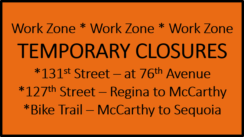 Road and Trail Closures