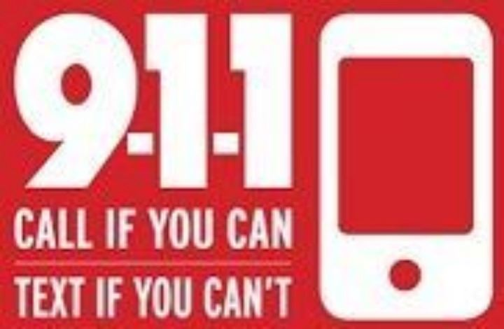Text to 911 logo