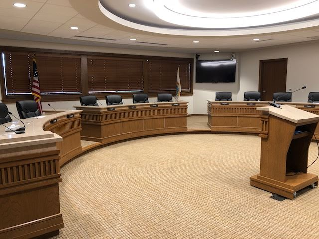 City Hall, Council Room