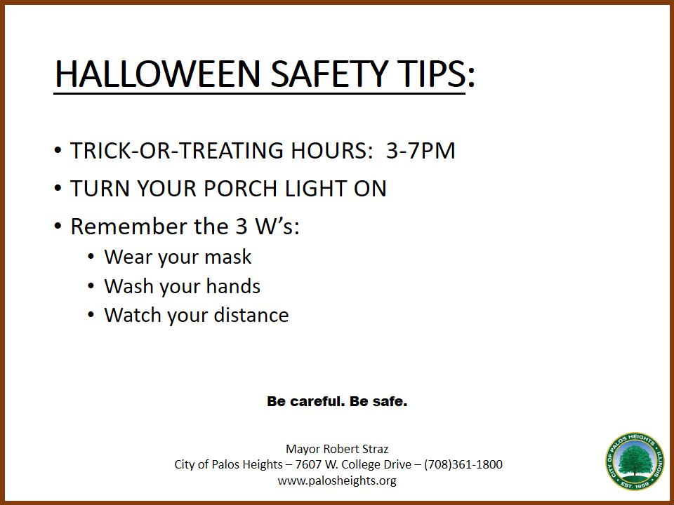 TRICK-OR-TREATERS WELCOME HERE back info